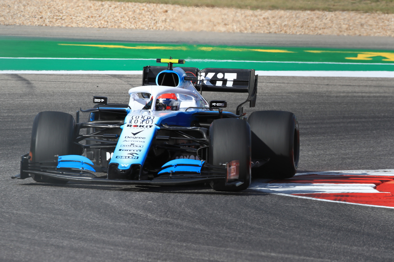 Robert Kubica - ROKiT Williams Racing in the 2019 Formula 1 United States Grand Prix - Circuit of the Americas - Free Practice 2