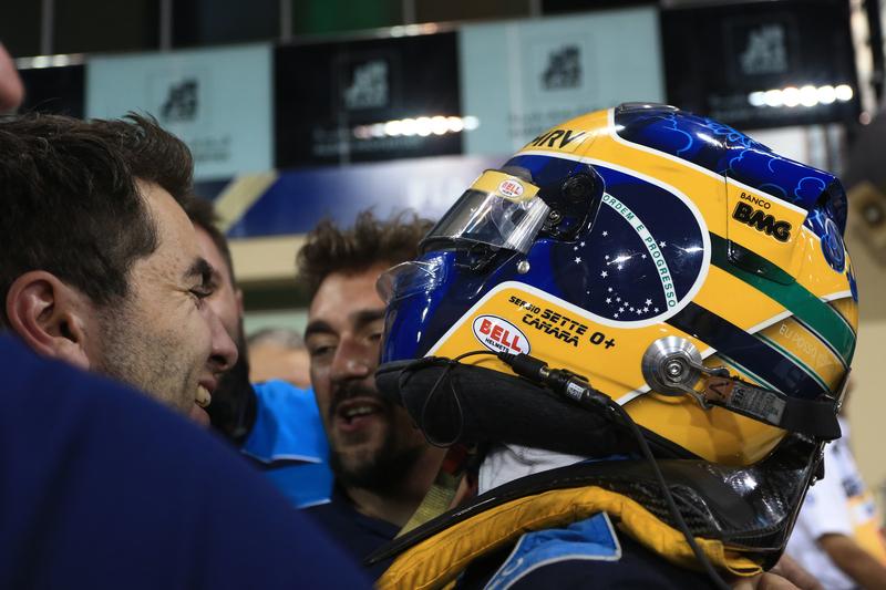 Sérgio Sette Câmara - DAMS in the 2019 FIA Formula 2 Championship - Yas Marina Circuit - Parc Ferme