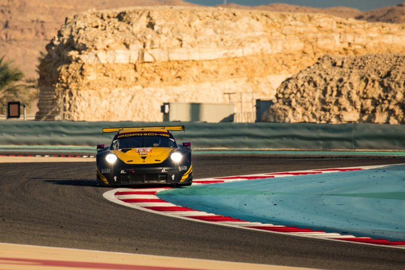 #57 Team Project 1 on track during the 8 Hours of Bahrain, 2019