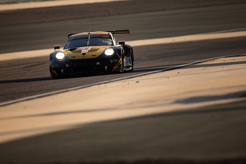 #57 Team Project 1 on track at Bapco 8 Hours of Bahrain, 2019