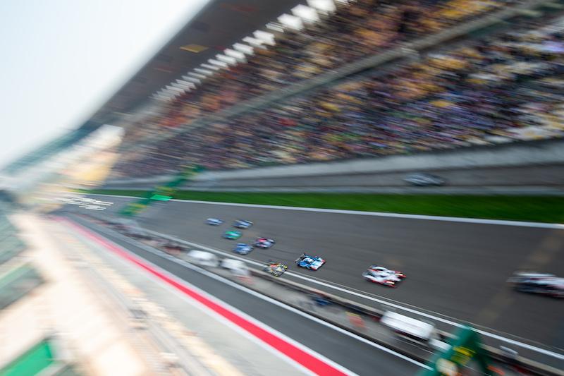 Race start, 4 Hours of Shanghai 2019