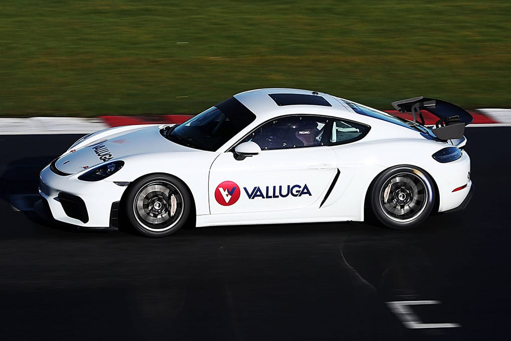 Valluga-Racing Porsche Sprint Challenge GB