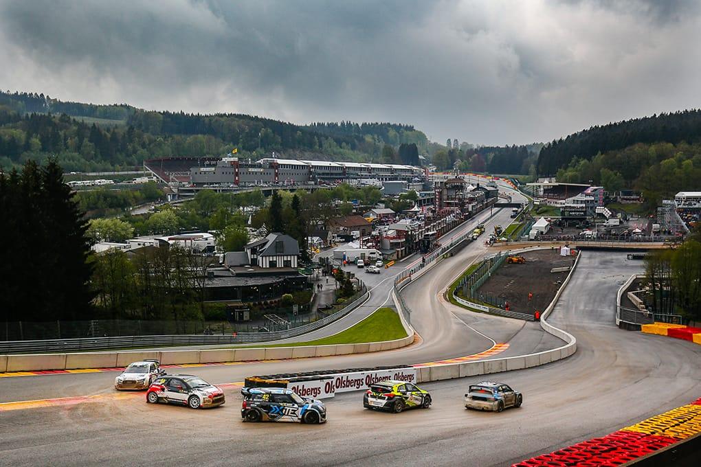 Oliver Bennett - Mini Cooper SX1 - FIA World Rallycross