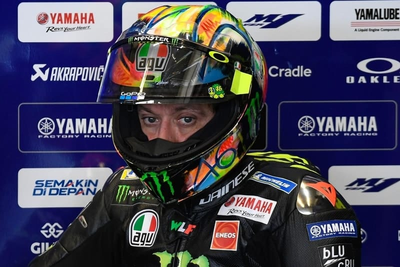 What Yamaha S Rider Shake Up Means For Legend Valentino Rossi The Checkered Flag