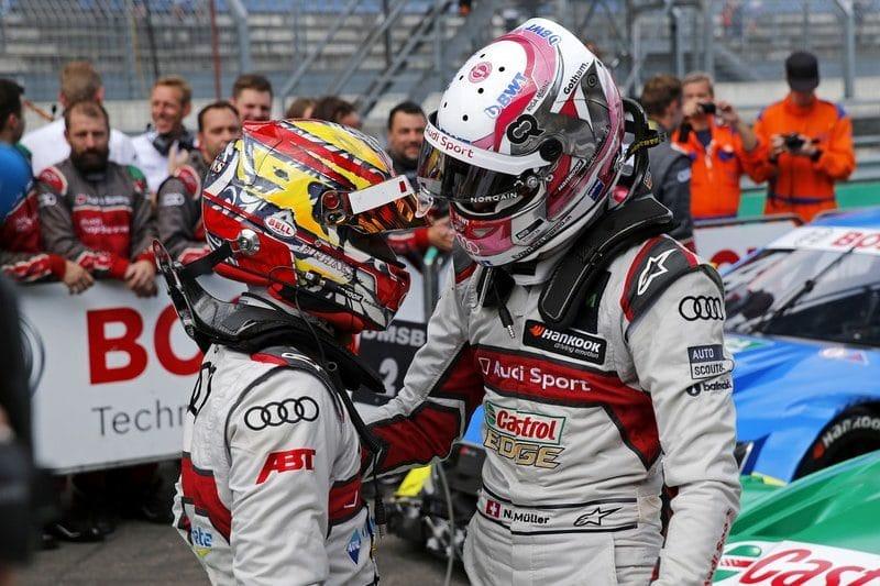 Robin Frijns & Nico Muller - DTM Series - 2019 Lausitzring