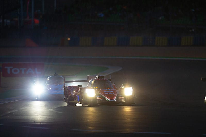 #31 DragonSpeed on track at 24 Hours of Le Mans, 2019