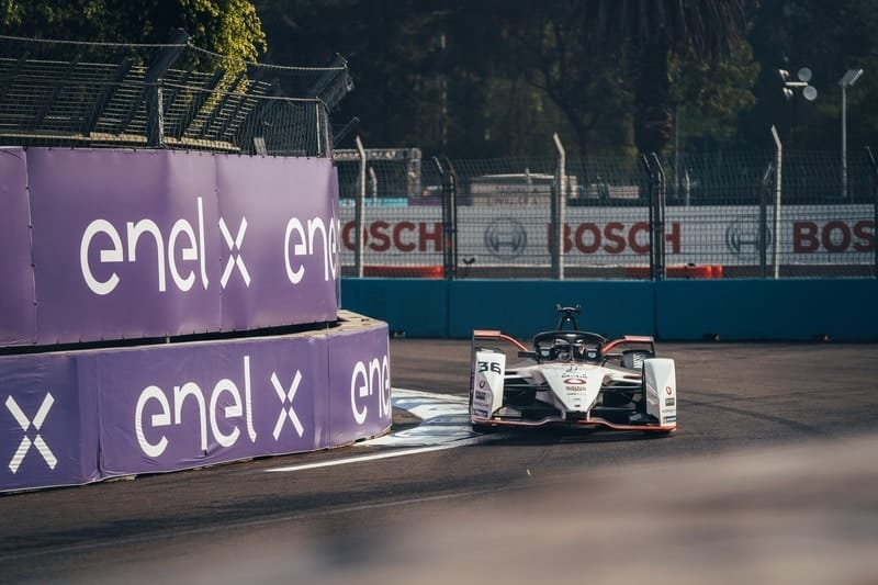 Andre Lotterer on Mexico City pole