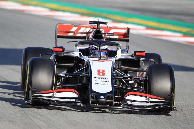 Haas-F1-Testing