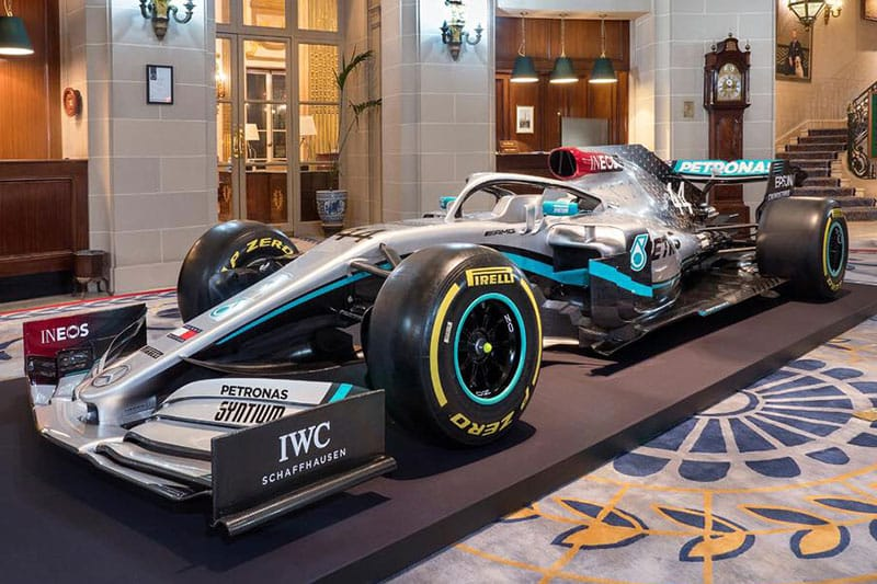 Mercedes F1 confirm five-year Ineos sponsorship