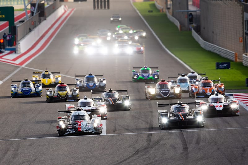 Start of the 2019 Bapco 8 Hours of Bahrain