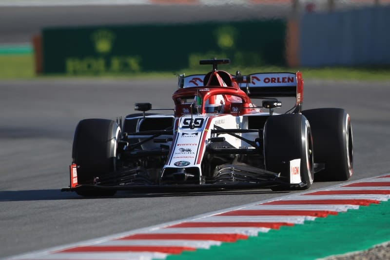 Antonio Giovinazzi - Alfa Romeo Racing at Circuit de Barcelona-Catalunya