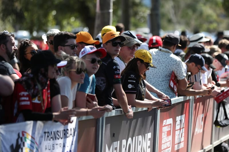 Australian GP will not bar fans over coronavirus fears