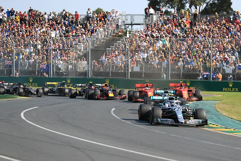 Coronavirus: F1 moves summer break to March and April
