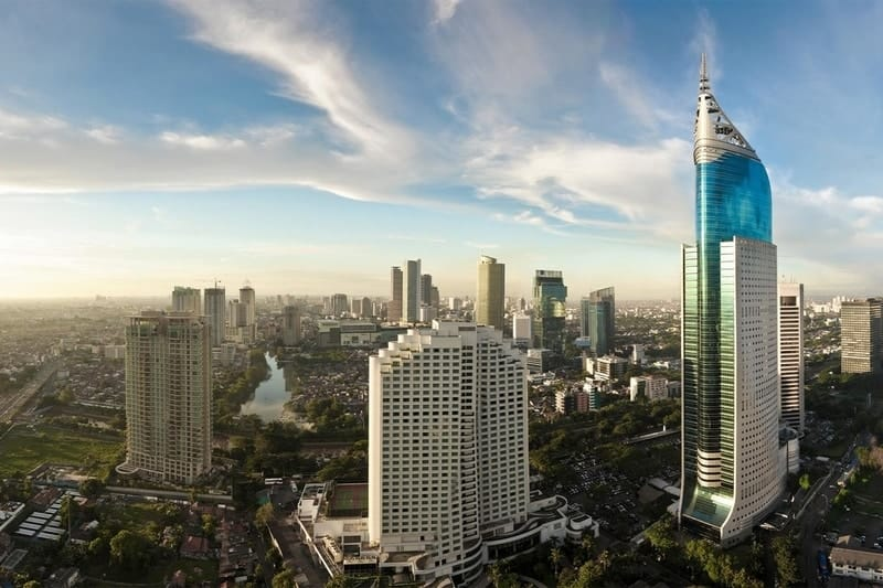 Jakarta birds-eye-view