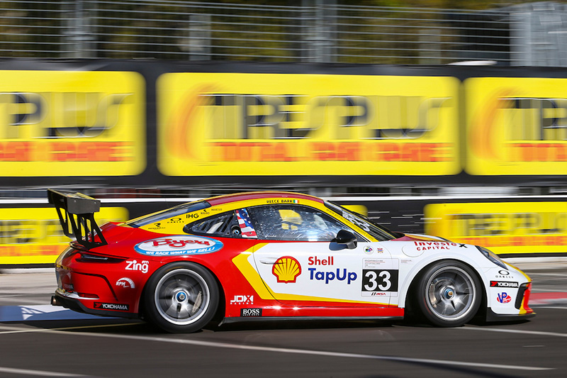 Reece Barr JDX Porsche