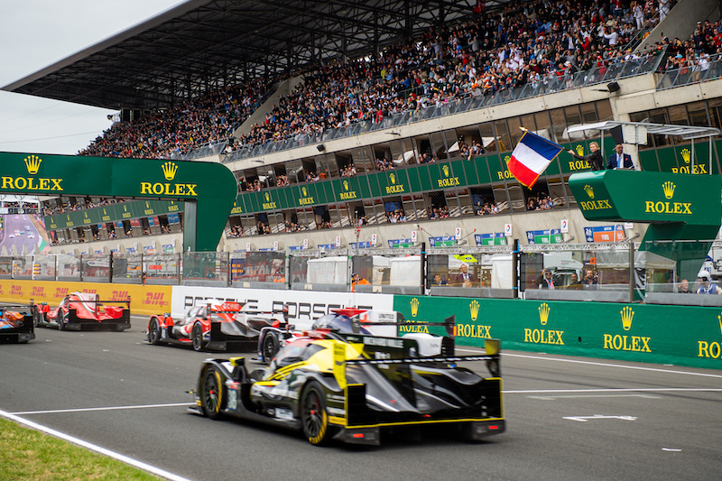 Start of 24 Hours of Le Mans, 2019
