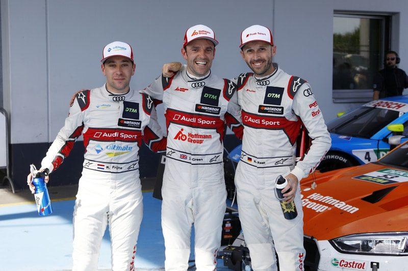 Robin Frijns, Jamie Green and Rene Rast - DTM Series = 2019 Nurburgring