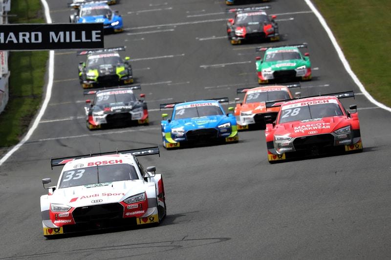 Race Start - DTM Series - 2019 Brands Hatch