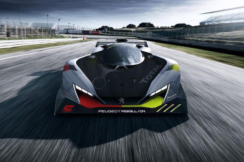 Peugeot Racing Digital mock up of 2022 Hypercar