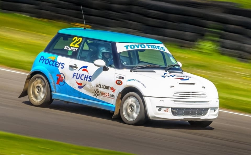 Drew Bellerby's BMW Mini at Lydden Hill