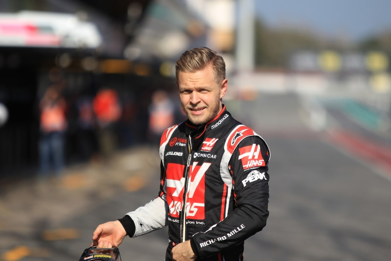 Kevin Magnussen at F1 Pre-Season Testing 2020