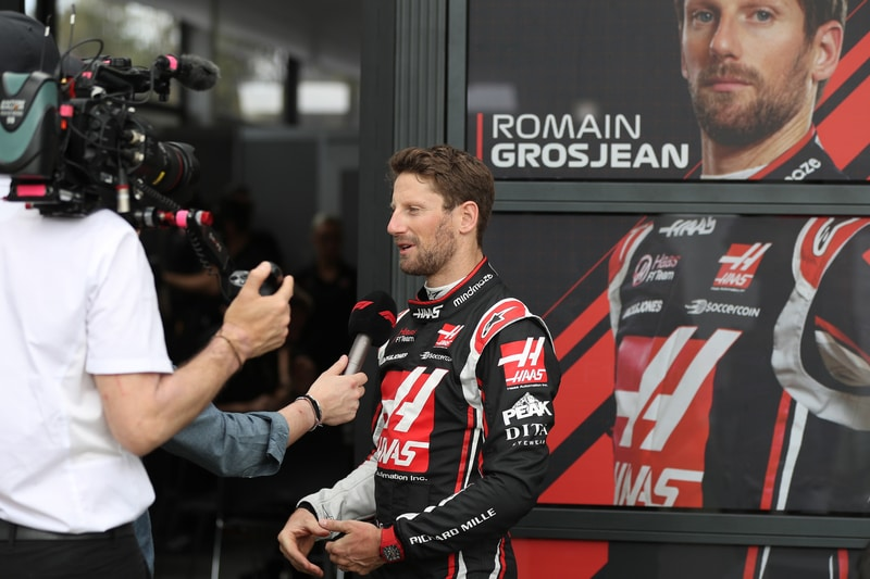Romain Grosjean 2020