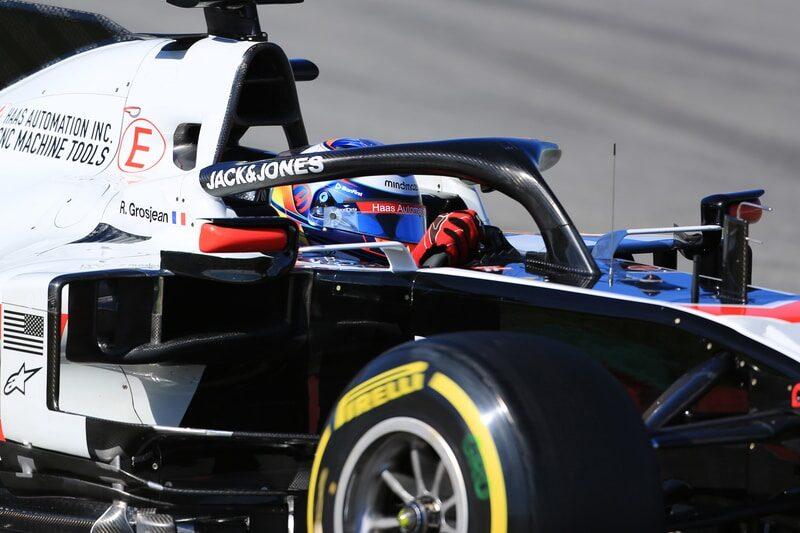 Romain Grosjean - Formula 1 Testing 2020