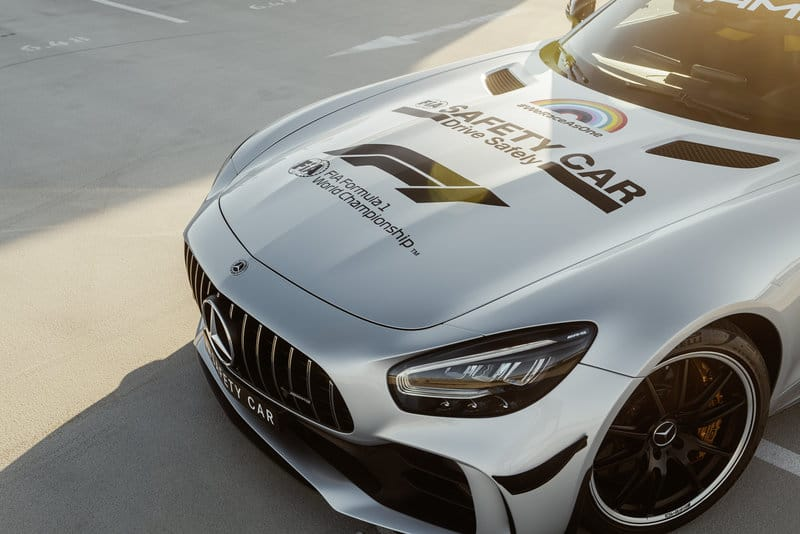F1 Safety Car Bonnet