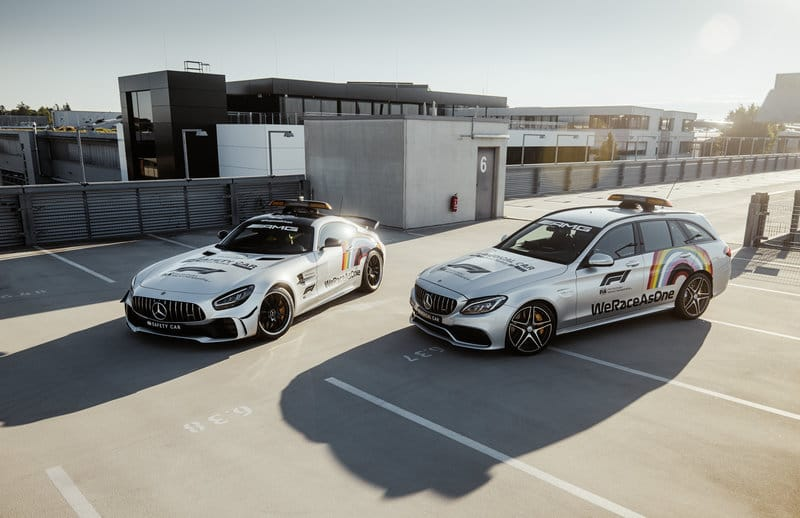 2020 F1 Safety Car and Medical Car