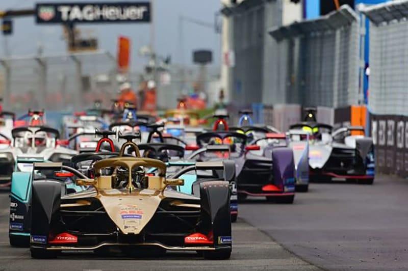 Formula E start - Rome