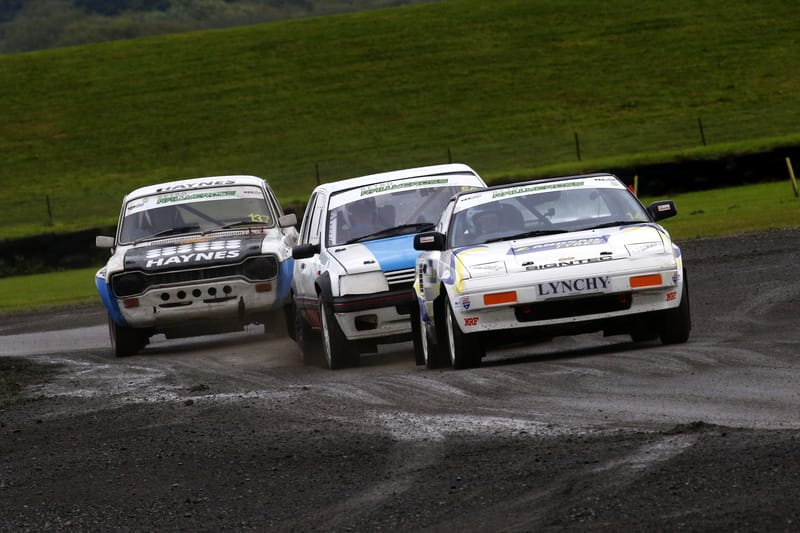 Tony Lynch's MR2 in action