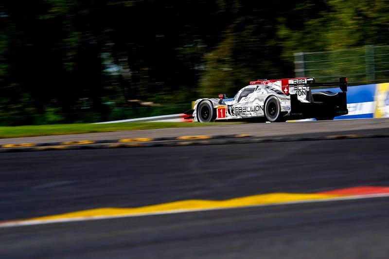 Rebellion Racing on track at Circuit Spa-Francorchamps