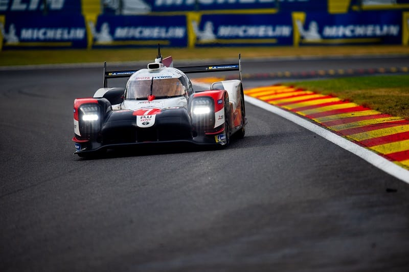 #7 Toyota Gazoo Racing on track during the 6 Hours of Spa-Francorchamps, 2020