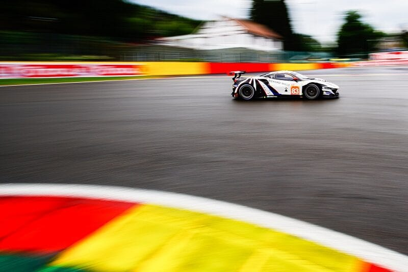 #83 AF Corse on track during the 6 Hours of Spa-Francorchamps, 2020