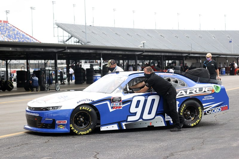NASCAR Penalizes Xfinity Owner, Driver For Illegal Test