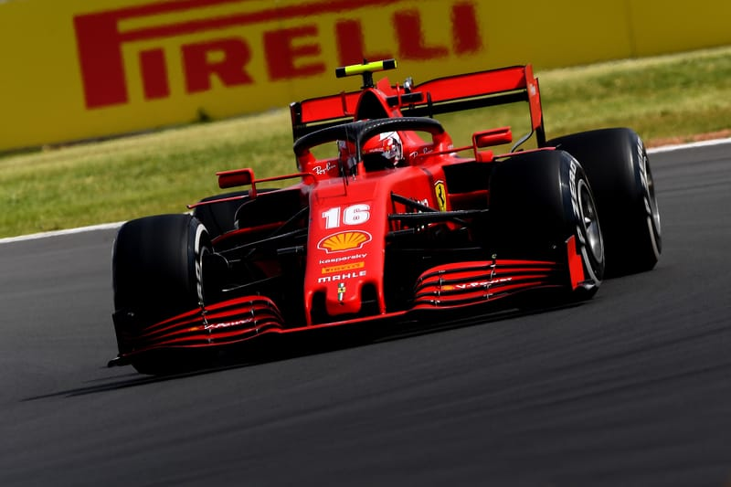 """Leclerc: """"It was a difficult day, but a good one."""" After Mixed Bag British GP for Ferrari - The Checkered Flag"""