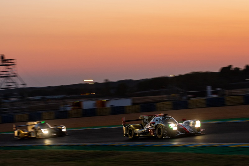 Rebellion Racing at Sunset, Le Mans 2020