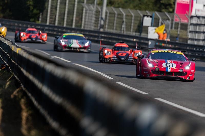 Cars on the Mulsanne Straight, Le Mans 2020