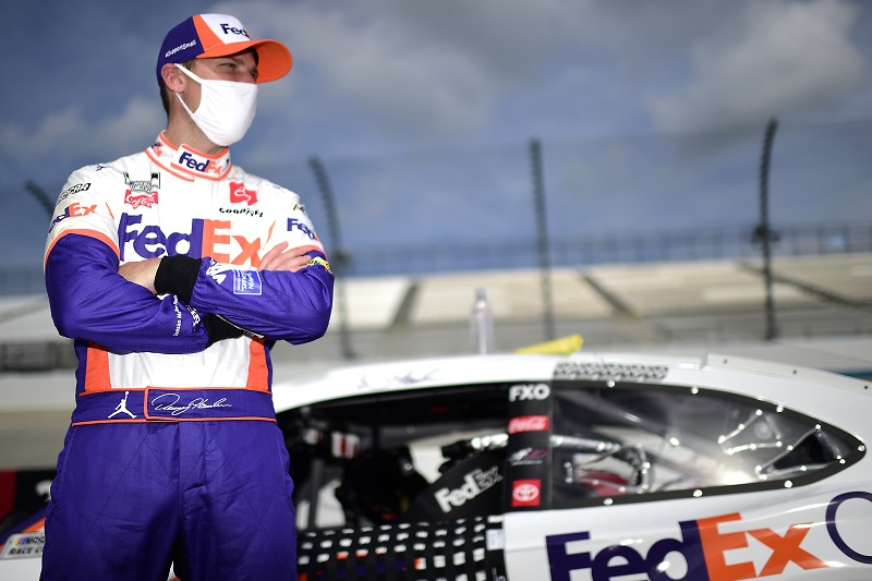 Denny Hamlin, Michael Jordan forming NASCAR team with Bubba Wallace as driver, buys charter from Germain - The Checkered Flag