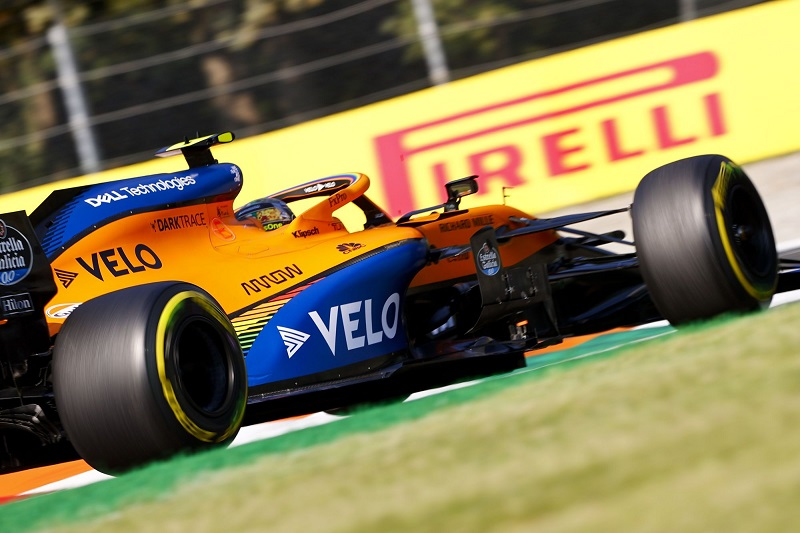Norris Confident in Single Lap Pace at Monza but Rues Loss ...