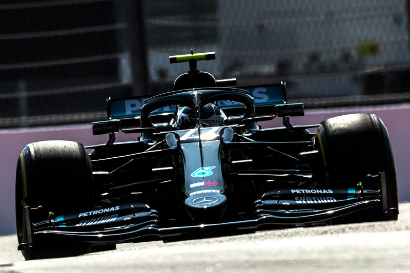 Bottas delighted with win and Mercedes double podium - The Checkered Flag