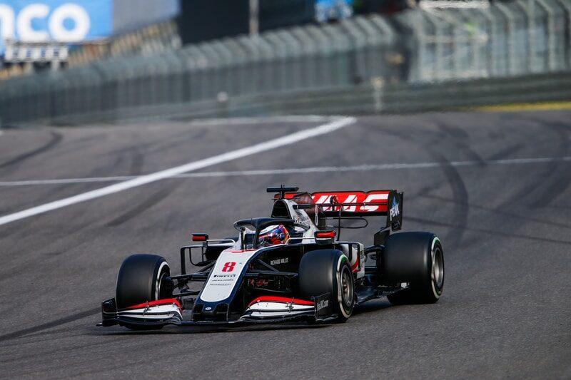 No Broken Finger For Romain Grosjean In A Points Finish