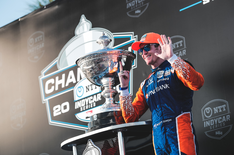 Newgarden Wins St. Pete, Dixon Wins Sixth IndyCar Championship in Wild Race - The Checkered Flag