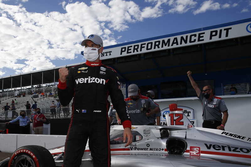 Will Power Shows St. Petersburg Mastery With Another Pole in Controversial Qualifying - The Checkered Flag