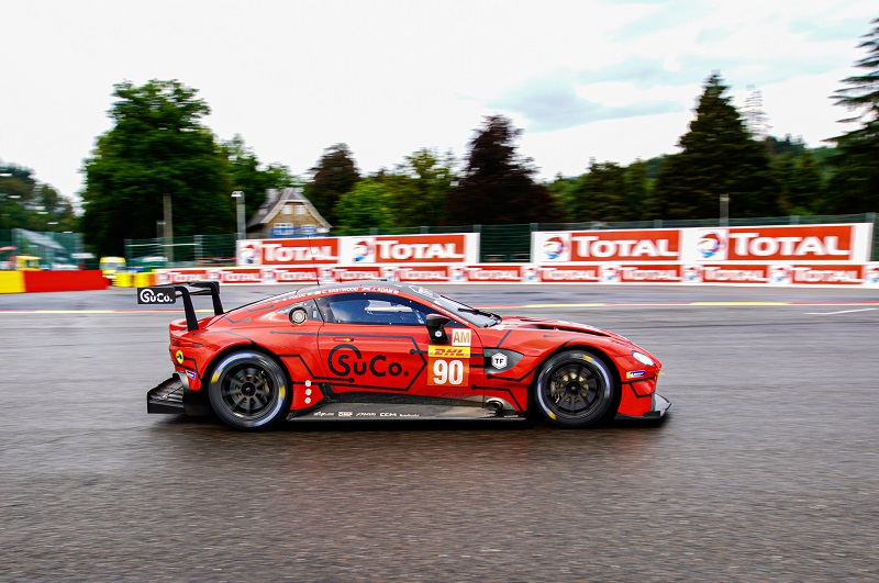 #90 TF Sport LM GTE Am on track at Spa-Francorchamps
