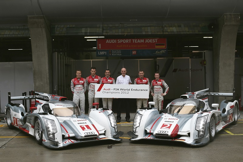 The Audi LMP Programme was highly successful, with 13 Le Mans victories from 18 appearances