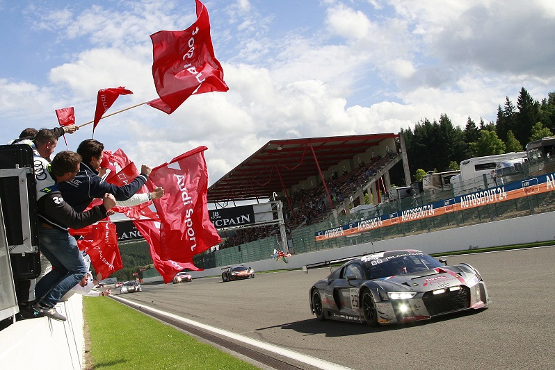 Audi's customer racing programme brought them as many successes as their works programs did