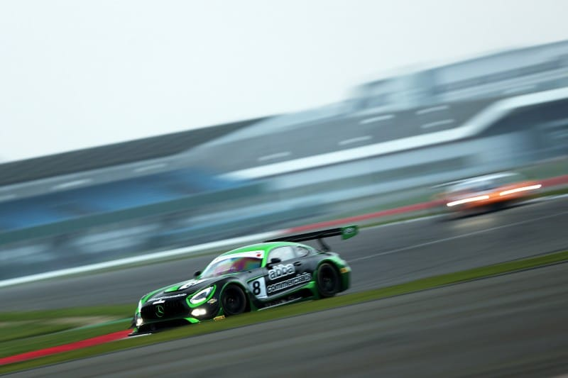 #8 ABBA Racing Mercedes-AMG GT3, driven by Richard and Sam Neary