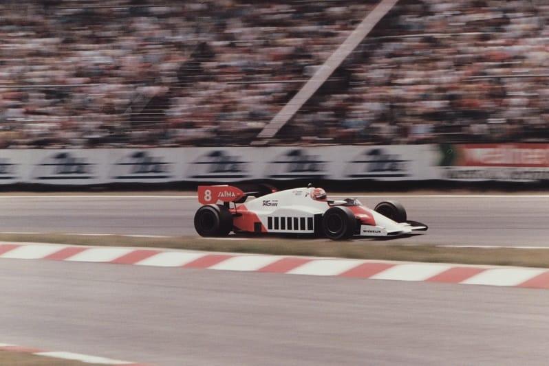 McLaren MP4/2 Formula One car with TAG-Porsche Engine, 1984