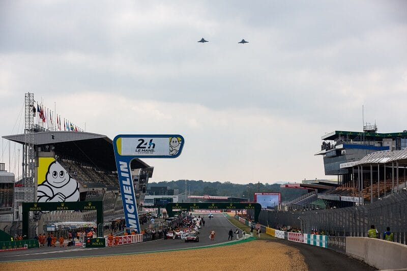 2020 24 Hours of Le Mans Race Start
